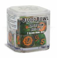 Blood Bowl Nurgle Team Dice Set 99220901001 (Limited, OOP, New Unopened)