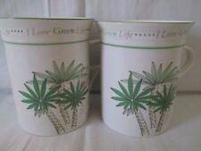momoyama green life mugs