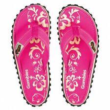 GUMBIES Islander Damen Zehentreter Schlappen Strandlatschen Sandalen pink - NEU