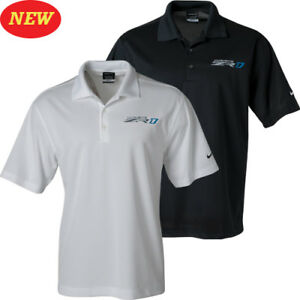 Corvette ZR1 C7 Nike Dri-Fit Polo White or Black Buds Chevrolet
