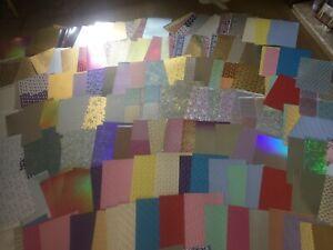 50 sheets of Premium FOILED Kanban card stock  FANTASTIC BARGAIN SALE