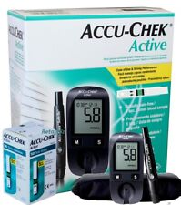 Accu-Chek Active Blood Glucose Meter Sugar Monitoring System Kit With 60 Strips