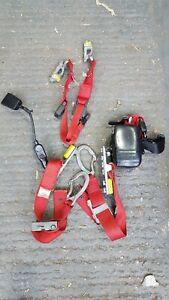 Unwin wheelchair straps/clamps restraints