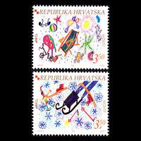 "Croatia 2004 - EUROPA Stamps ""Holidays"" - Sc 552/3 MNH"