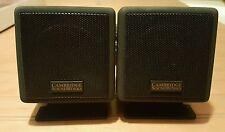 2-Cambridge Soundworks Ensemble  Rear Surround Satellite Speakers.