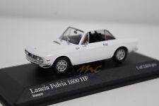 Minichamps 400125700 Lancia Fulvia 1600 HF 1979 White 1/43 #NEW