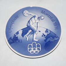 scarce ROYAL COPENHAGEN OLYMPIADE MONTREAL 1976 PLATE