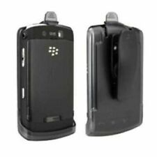RomeTech Phone Holster Case with Belt Clip For BlackBerry Tour 9630 / Bold 9650