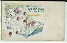 comic postcard pair: Vips (Vicious Invasive Pests)