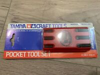 Tamiya 74010 Pocket Tool Set Craft Tools + Brand NEW + Free Shipping