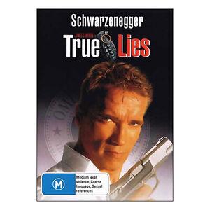 True Lies DVD New Region 4 Arnold Schwarzenegger, Jamie Lee Curtis - Free Post