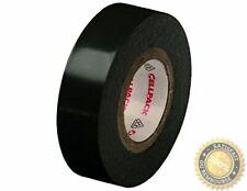 Ruban Adhésif Isolant Electrique 10m Noir Scotch Électricien Chatertone PVC NEUF