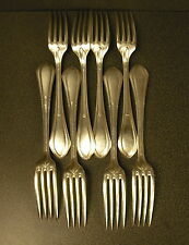 8 fouchettes silvered metal to the 1900 silver plated forks table art