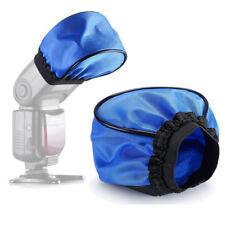 Pro Blue Universal Soft Mini Flash Bounce Diffuser Cap for Canon Nikon Yongnuo