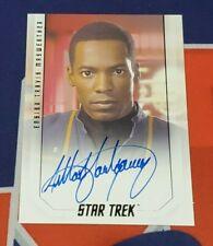 2019 Star Trek Inflexions Bridge Crew Anthony Montgomery Autograph
