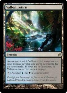Vallon retiré - Secluded glen - Terrain fée - Magic Mtg