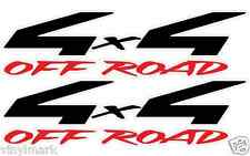 1990 - 1997 4x4 Off Road Decals for Nissan Frontier Bedside Decal Sticker Black
