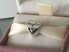 New Genuine Pandora Daughter Love Heart Charm Bead S925 ALE Free Pouch