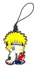 Naruto Strap Charm Minato Namikaze Shippuden Rubber Collection Fourth 4th Hokage