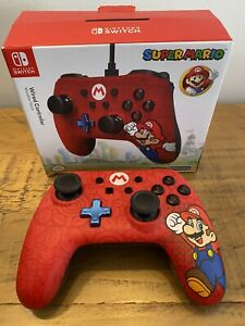 OFFICIAL NINTENDO SWITCH SUPER MARIO WORLD WIRED CONTROLLER / PAD POWERA
