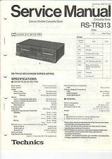 Technics Service Anleitung Manual RS-TR313   B1158
