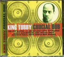 KING TUBBY CRUCIAL DUB CD - ZION DUB, WATERHOUSE ROCK & MORE