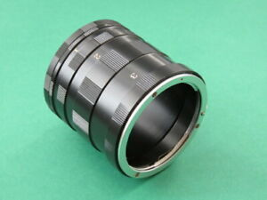 Macro Extension Tube Ring 3 Set for EOS EF EF-S Canon 5D MARK IV 760D 1200D 80D