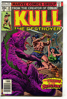 Kull The Conqueror 25 Marvel 1978 VF NM Chain Shackle Bondage Giant Lizard