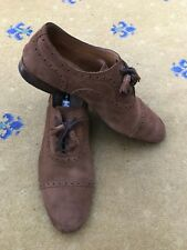 29185617ce Gucci Womens Shoes Tan Brown Suede Lace Up UK 7 US 9 EU 40 Ladies Tassel