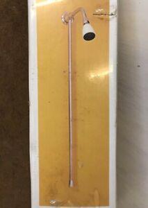 Vintage Mira ER-S Shower Assembly Fixed Kit Spray White Head Wall Chrome Pipe