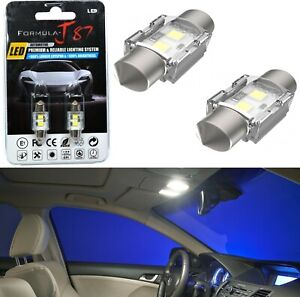 LED 5W Light CANbus DE3021 White 5000K Two Bulbs Interior Dome Replacement Lamp