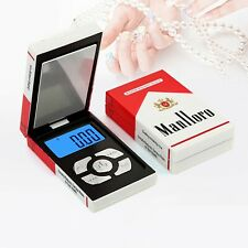 Pocket Digital Scale Cigarette Box Mini Jewelry Coin Weighing 200gx0.01g