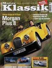 Motor Klassik 5/01 2001 BMW 315/1 Champion Lamborghini 400 GT Morgan Plus 8 A310