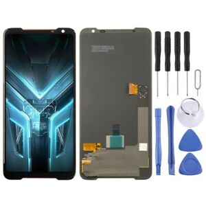 For Asus ROG Phone 3 ZS661KS OLED Replacement Display Digitizer Touch BLACK