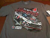 KEVIN HARVICK #4  JIMMY JOHN'S FREAKY FAST  RACING  NASCAR T SHIRT LARGE  U4