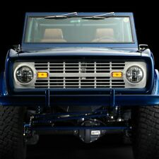 1966-1968 Ford Bronco Black Grille Without Lettering