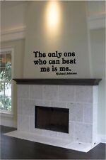 Michael Johnson Quote Vinyl Wall Decal Decor Winners