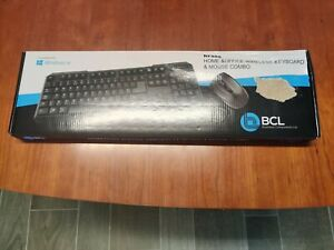 BCL RF888 Home & Office Wireless Keyboard & Mouse Combo