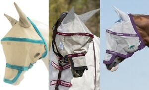 Rambo Fliegenmaske Horseware mit Ohren Augenschutz Vamoose Ohrenschutz