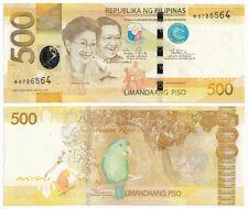 2014 NEW GEN 500 Pesos Aquino-Tetangco STARNOTE Replacement  Philippine Banknote