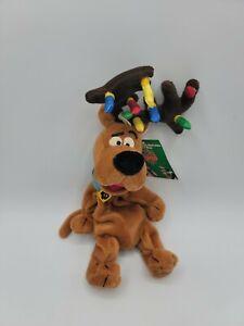 Vintage Warner Bros Studio Store Christmas Scooby Doo Bean Bag Plush W Tags