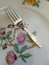 New ListingRare Silverplate Mosel Baby Child Fork No Mono
