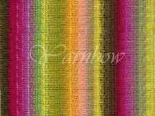 NORO ::Kureyon #95:: wool knitting yarn Lime-Hot Pink-Orange