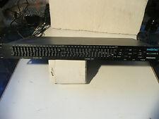 PHONIC EGALISEUR PEQ 3400 2/3 d'octave 2 x 15 bandes