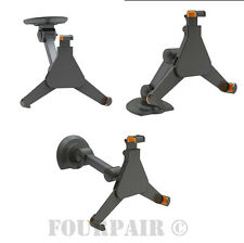 Under Cabinet Wall or Desk Mount Holder for Galaxy Tab Tablet iPad 2/3/4/Air/Pro