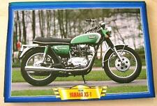 YAMAHA XS 1 650 TWIN VINTAGE MOTORCYCLE BIKE 1970'S PRINT PICTURE 1970