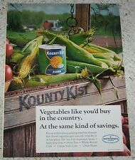 1973 vintage ad - Green Giant Kounty Kist canned corn vegetables PRINT ADVERT