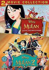 Mulan Collection - Mulan Musical Masterpiece/ Mulan 2 (DVD, 2012, Box Set)