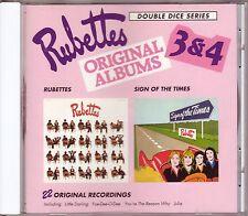 RUBETTES – Original Albums 3 & 4 (Dice Records, UK - 1992) – RARE & NEW !!!