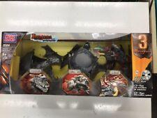 Mega Bloks #9504 Dragons Metal Ages Ferrarius Argentum Irascor RARE BOX DAMAGED